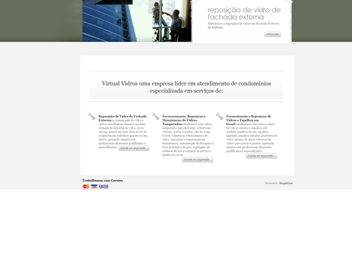Site Virtual Vidros