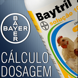 Baytril Solução – Cálculo Dosagens
