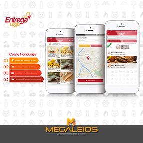 Aplicativo de Delivery – Entrega Logo