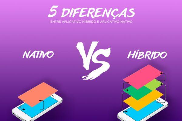 Você sabe quais são as diferenças entre aplicativo híbrido e aplicativo nativo?